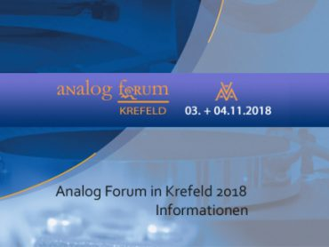 Analog Forum in Krefeld 2018