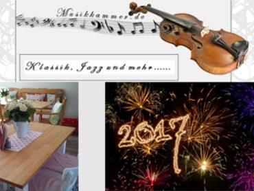 """Neues aus der Musikkammer:  Neujahrskonzert """"Ein Feuerwerk für die Ohren""""  Musik im Grenzland Nettetal"""